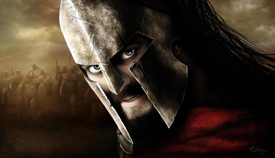 Leonidas the King of Sparta by emesemese
