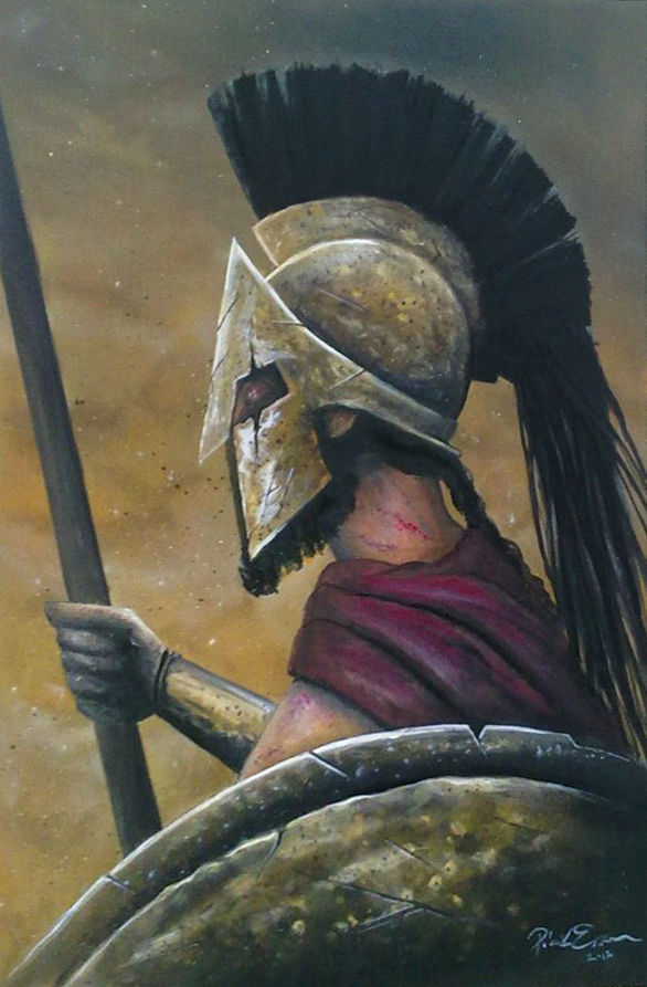 King of Sparta by emesemese