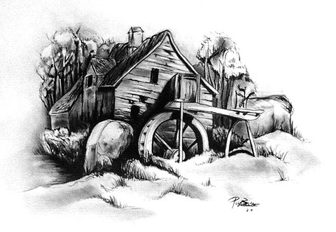 Old Mill by emesemese