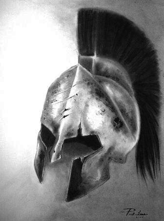 King Leonidas' Helmet by emesemese