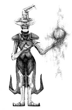 Great sorcerer Iron Hat and the Orb of Change