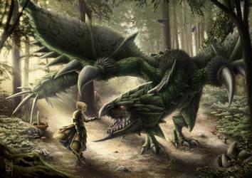 Rathian princess - Monster Hunter