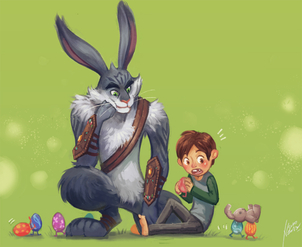 bunny and jaimie by scyao on deviantart