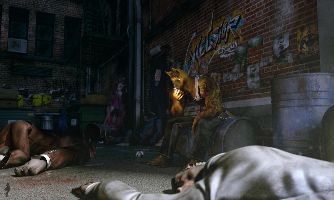The dark Alley by Scyao
