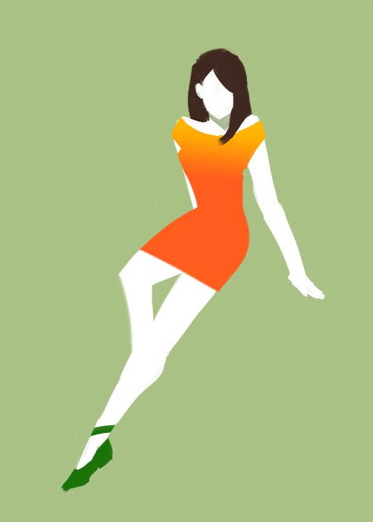 Miss Orange by Scyao