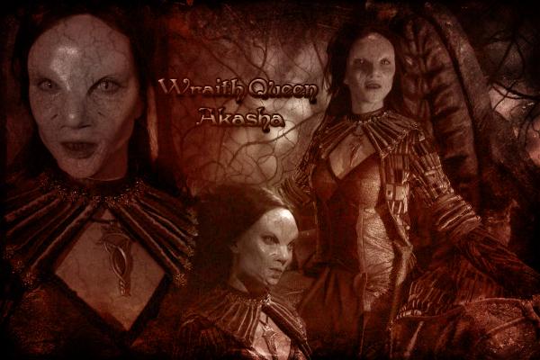 Wraith Queen Akasha By Tatyankawraith On Deviantart