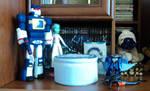 SGA and transformers
