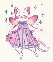 Fairy Cat by LadyMilka