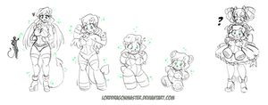Teddy Time - Sketch