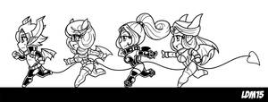 Run Demon Run - Sketch