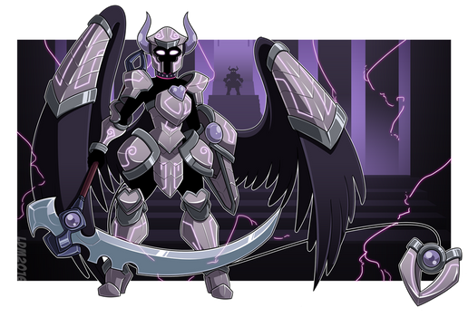 :Commission - Armoured Admittance: