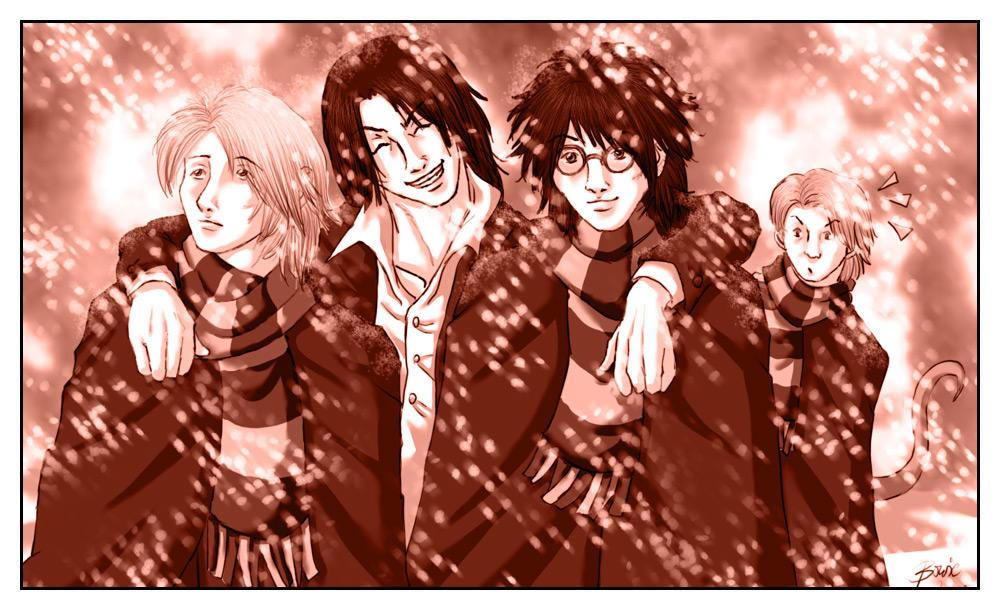 Harry Potter: Marauders by Bowie-Spawan
