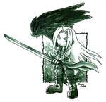 One Winged Chibi Angel :3