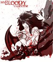 my bloody valentine by Bowie-Spawan
