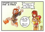 Sparrington and m-preg XD
