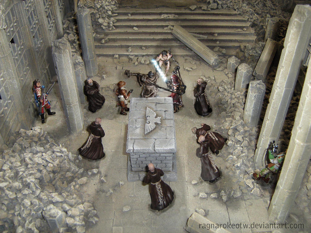 Fight in the Basilica