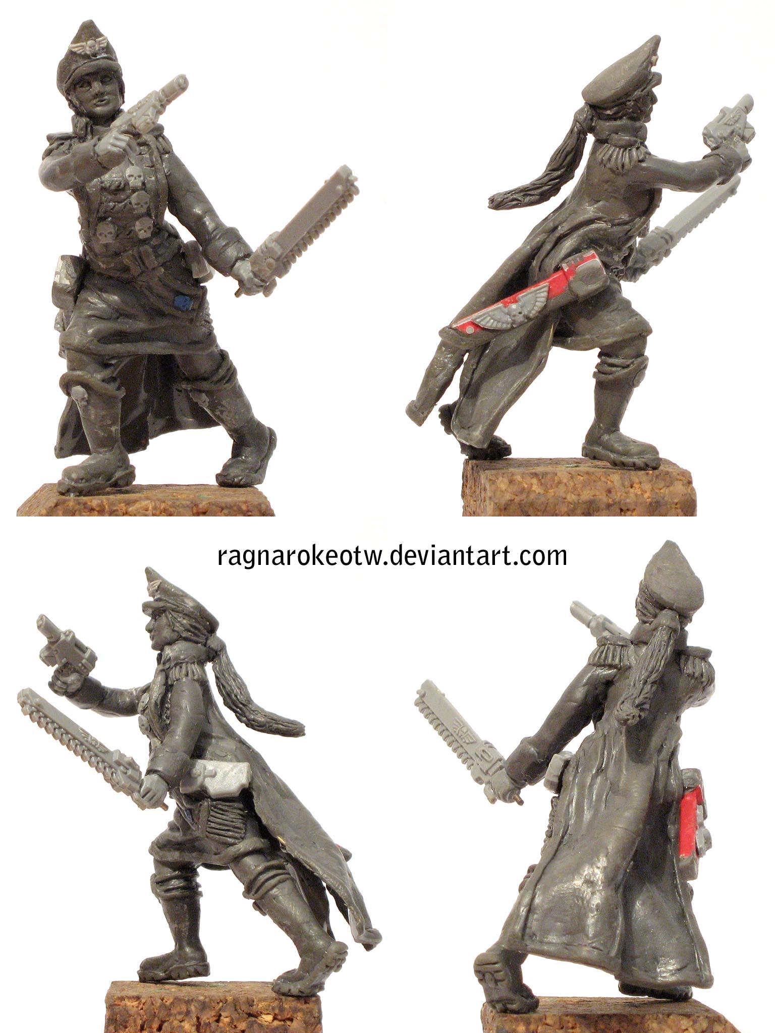 Commissar sculpt
