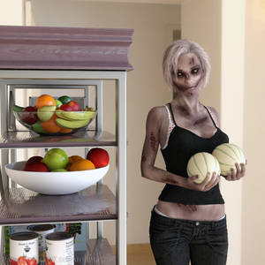 Holding her melons [Fracturing Veil]