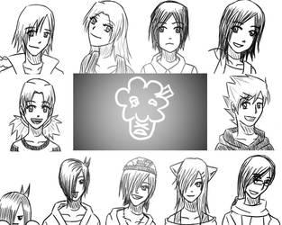 We are Family by hikari-midorichan