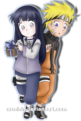 Naruto and Hinata: Not Yet by arminis