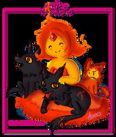Flame Princess Fan Art by arminis