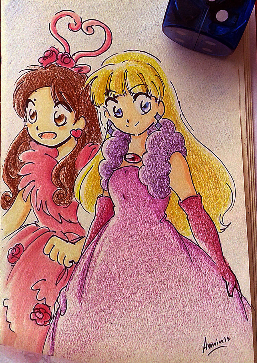 Mabel and Pacifica FanArt by arminis