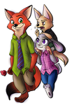 Nick, Judy and Finnick
