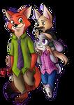 Nick, Judy and Finnick
