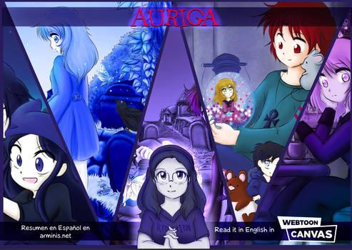 Auriga Summary in Webtoon Canvas