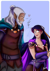 Shelken and Miranza Hanging Out