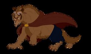 Beast Walk Sketch coloured
