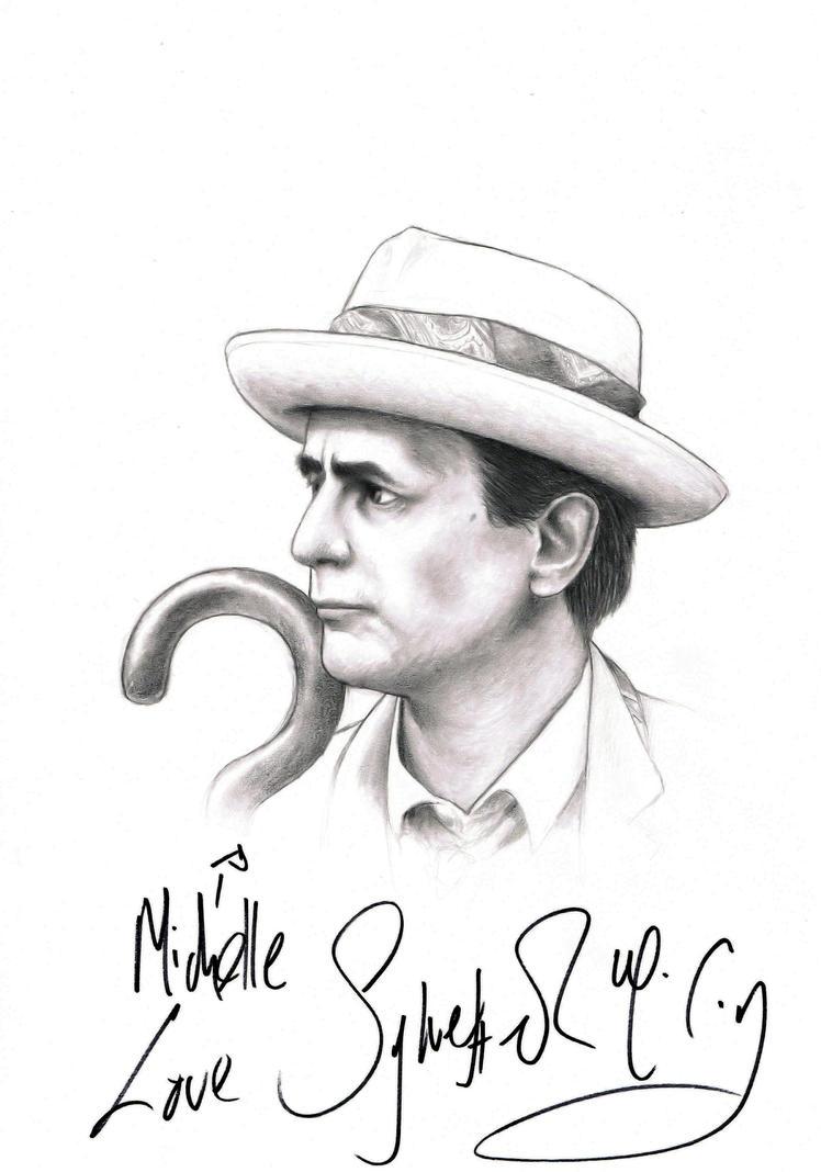 Sylvester McCoy autograph