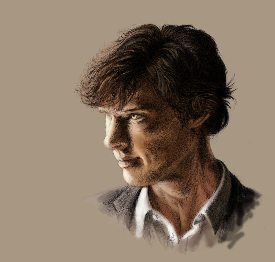 Cumberbatch Coloured by Atarial