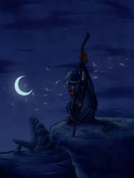 Rafiki Mourns by Atarial