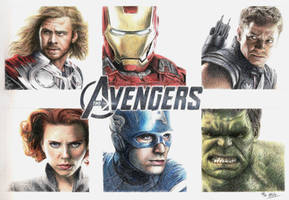 The Avengers by Atarial
