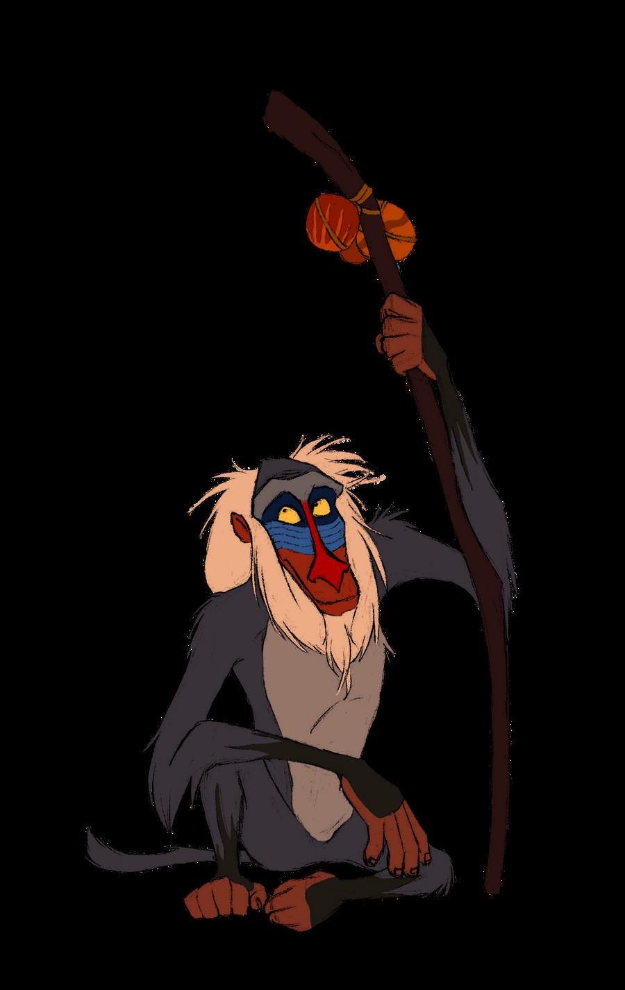 Disney Club Collab- Rafiki by Atarial on DeviantArt Lion King Rafiki
