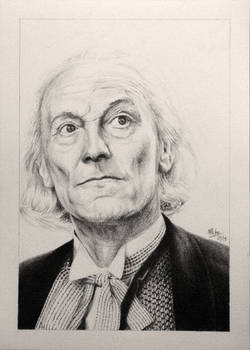 Drawing Doctor Who Project- William Hartnell