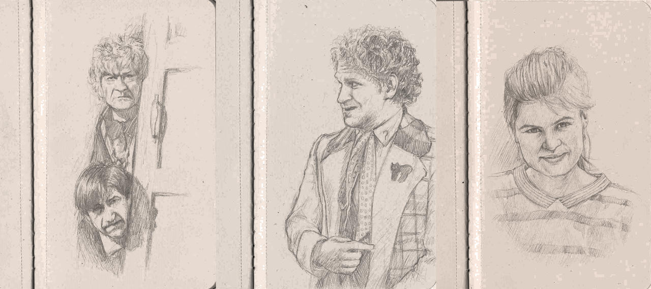 Doctor Who Drawings