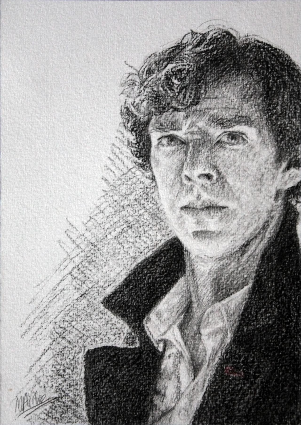 Charcoal Sherlock by Atarial