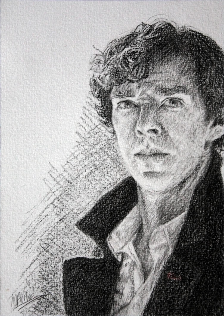 Charcoal Sherlock by Atarial