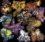 Thedas Dragons