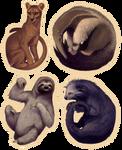 Odd Animal Stickers