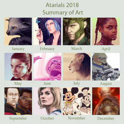 2018 Art Summary Meme by Atarial