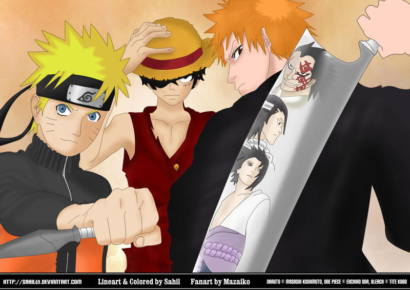 Naruto et ichigo porn