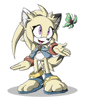 Kerry the Jackal by SonicWindAttack