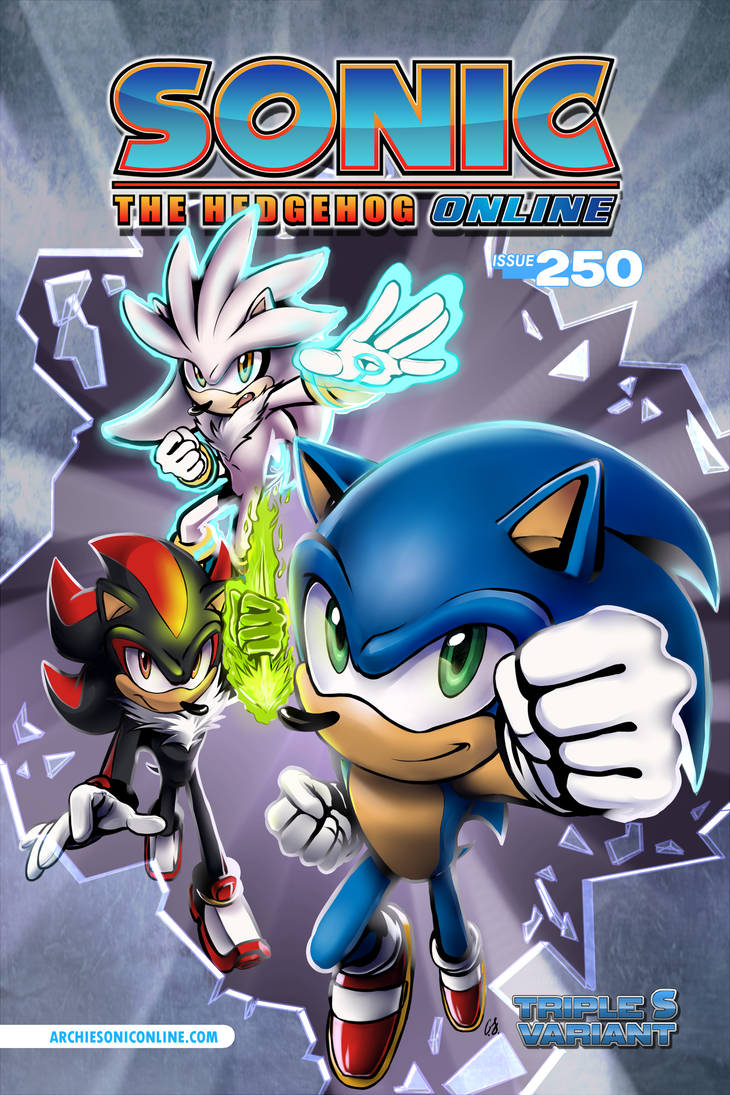 StH-O #250 Cover B by SonicWindAttack