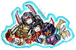 SD Decepticons Armada