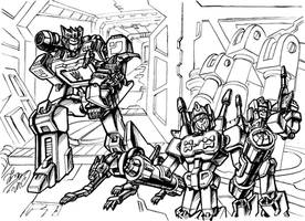 Soundwave family by Ccamang