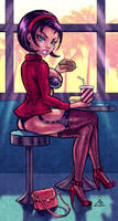 Pin-up Friday 96 - Lily's fast food - reimagined