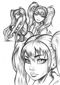 Extra 19 - Celine sketches